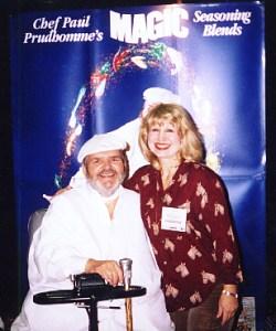 Madeleine Calder w/  Chef Paul Prudhomme